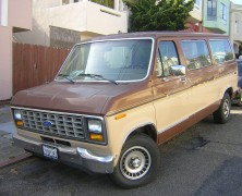 Livin' The Dream in an '91 Ford Econoline