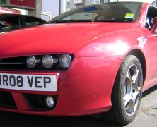 Alfa Brera at the Nurburgring