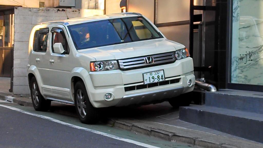 Honda Pilot, Japanese Market, in Tokyo
