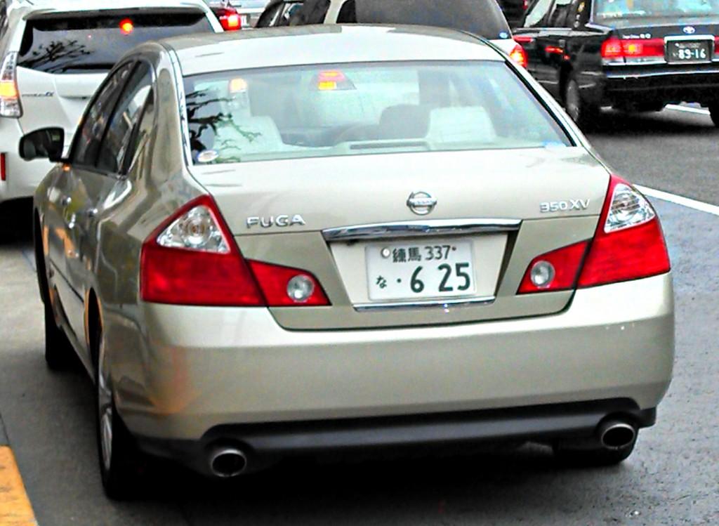Nissan Fuga, Tokyo