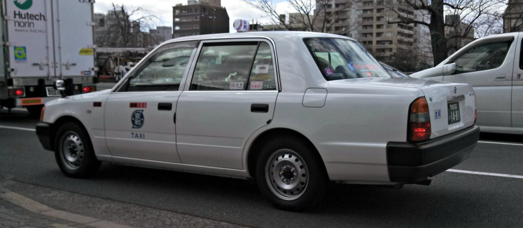 Toyota Crown Comfort cab, Kyoto
