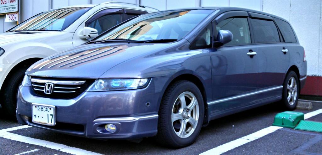 Honda Odyssey, Japanese Market