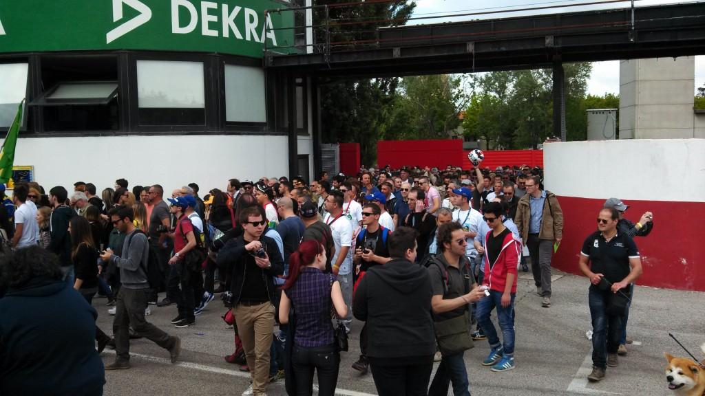 Entry to Imola, May 1 2014
