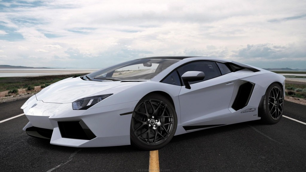 2014-Lamborghini-Aventador-White-Background-HD-Wallpaper