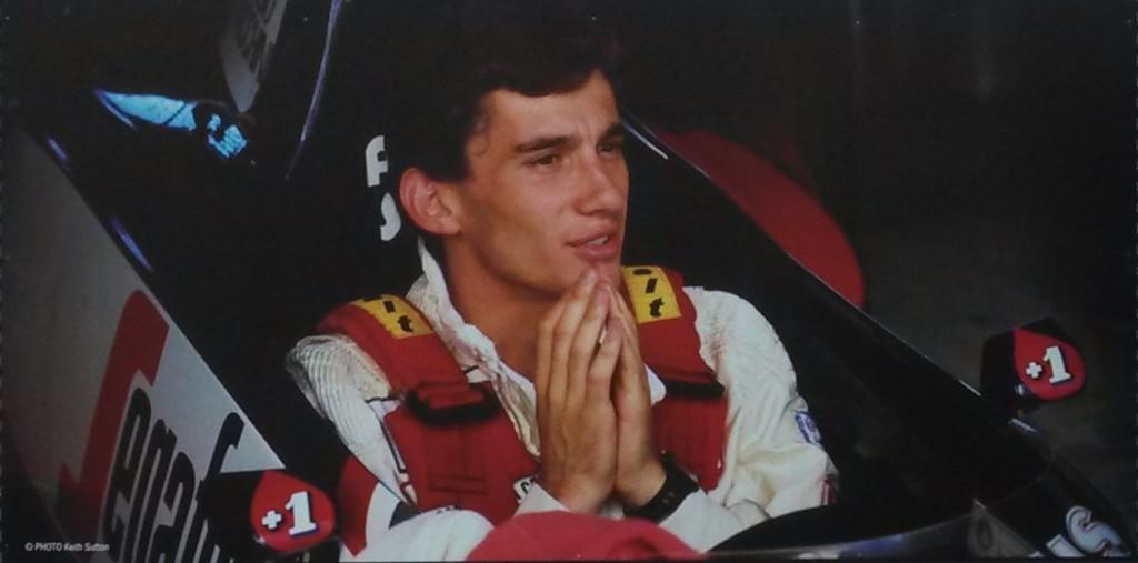 Senna, Toleman 1984; Keith Sutton in the spirit of Caravaggio !