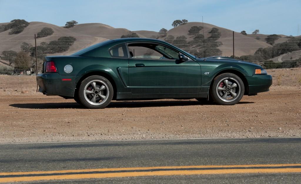 01 Bullitt Mustang, photo C Madson